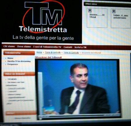 """Trasmissione """"Torre di controllo"""" - 24 aprile 2012 """"La situazione dei tribunali"""""""