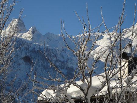 Winterurlaub Balkonblick