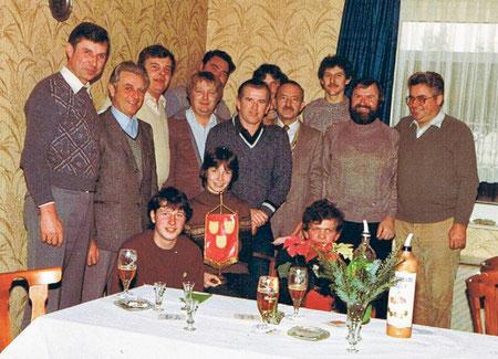 Weihnachtsfeier im Betrieb 1979