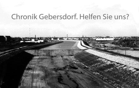 Kanal 1971 Blick von der Rothenburger Straße