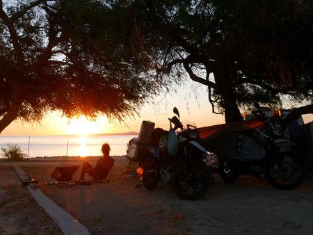 Camping in Kitesurfing Paradise La Ventana