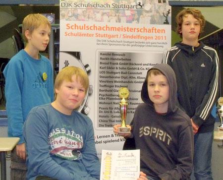 Sieger WK Hauptschulen: Freie Aktive Schule Stuttgart
