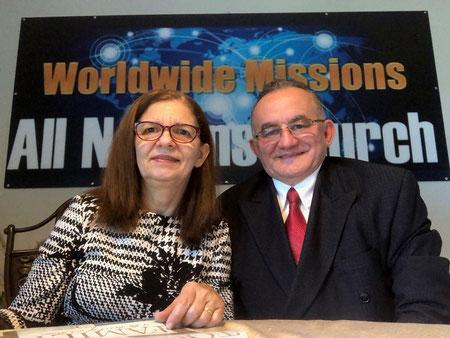 Jaciléia Paiva e Calby Paiva, Missionários.