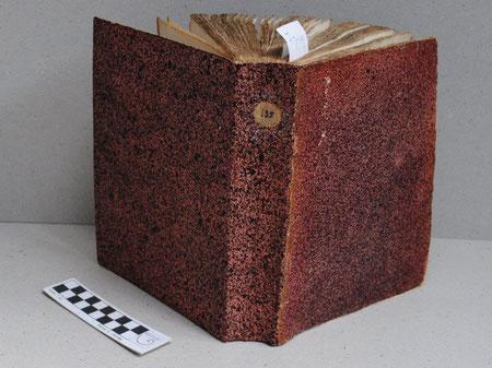 Foto: Eliane C. Gomes, Restaurierung: www.nautilus-boekbinderij.nl