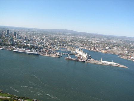 le Vieux-Port, le Bassin Louise et les Battures de Beauport