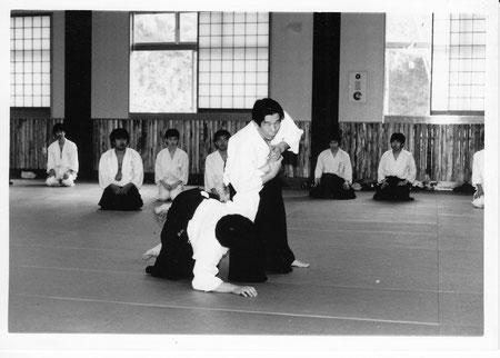 1984年夏合宿 山口清吾先生のご指導