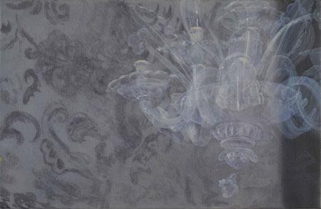 lunaire / 2012 / oil non canvas / 44 x 68 cm