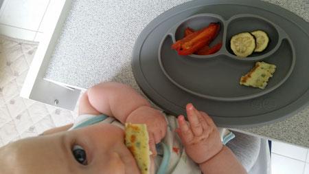 Baby-led Weaning Woche 4 - Zwischenbilanz