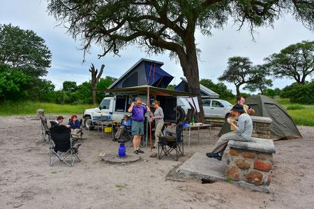 Unser Campsite in Savuti