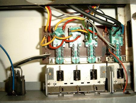 Platine Netzschalter Dual CV 1400 revitalisiert