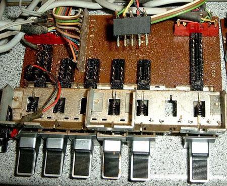 DUAL CV 1600 Eingangswahlschalter Platine