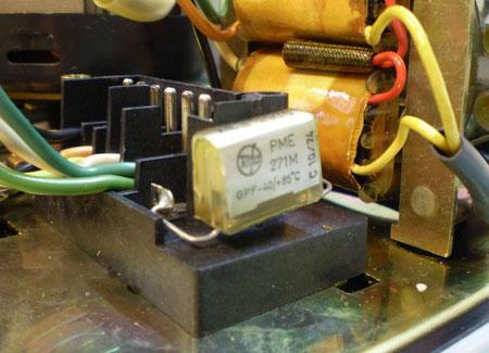 DUAL C 901 Entstörkondensator