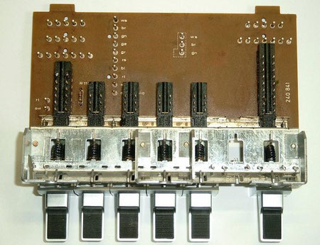 DUAL CV 1600 Eingangswahlschalterplatine