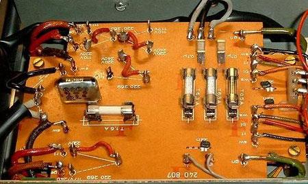 DUAL CV 1600 Netzanschluss Platine
