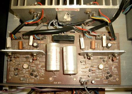 Platine Endstufe DUAL CV 1400 defekt