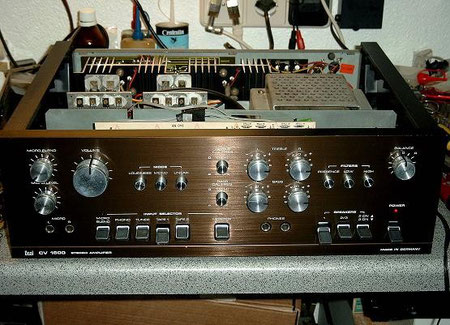 DUAL CV 1600 mit Frontblende