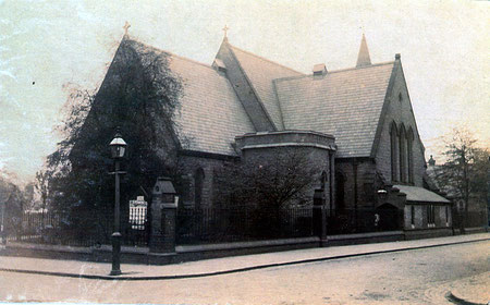 St Silas' viewed from the north-west. Image courtesy of John Salmon's St Silas Kentish Town website - http://www.saintsilas.org.uk/section/106.