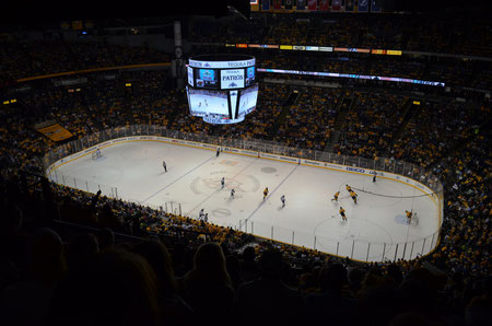 Bridgestone Arena - Nashville Predators vs. Minnesota Wild