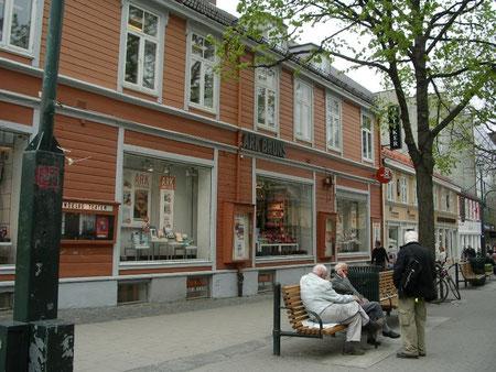 Strasse in Trondheim