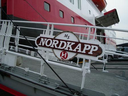Hurtigruten Schiff Nordkapp