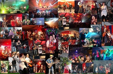 Now or Never Band Collage 2013