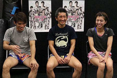 ストラッグル所属プロ選手 老沼隆斗、松﨑公則、ぱんちゃん璃奈