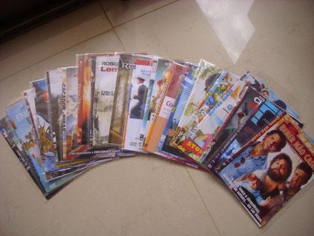 19 DVD-Raubkopien