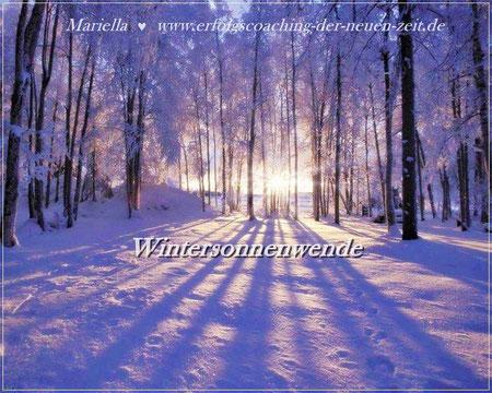 solstice wintersonnenwende blütenklang frauentempel ahnenfeldheilung