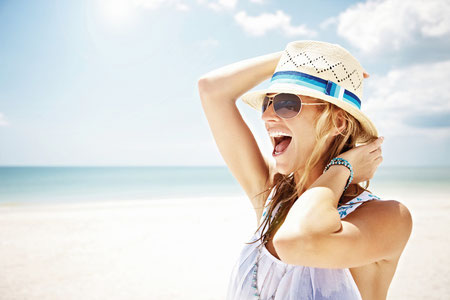 Sommer Sonne UV Schutz