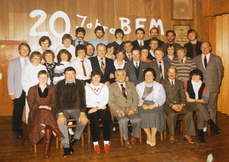 """Die Mitglieder der """"BFM"""" 1983"""