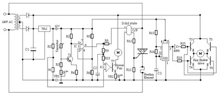 Incubator circuit diagram