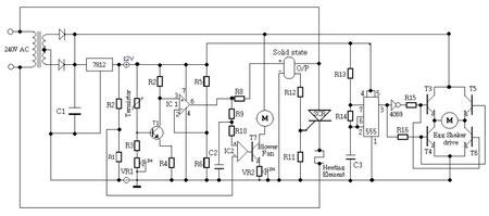 Incubator circuit diagram