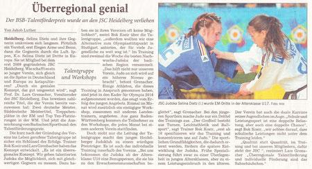 Erschienen am 31.07.2012 in der Rhein-Neckar-Zeitung