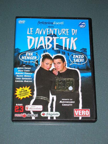 Eva Henger ed Enzo Salvi  in: Le avventure di Diabetik