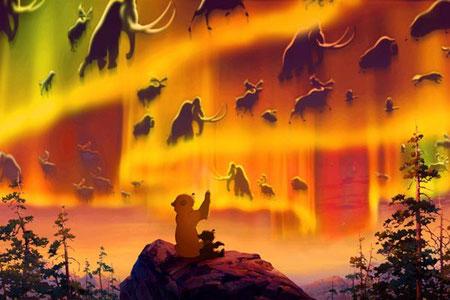 """""""Frère des Ours"""", les esprits de la montagne"""