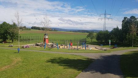 Spielplatz in Münchberg