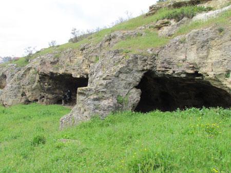 Caves in Careenage Ravine