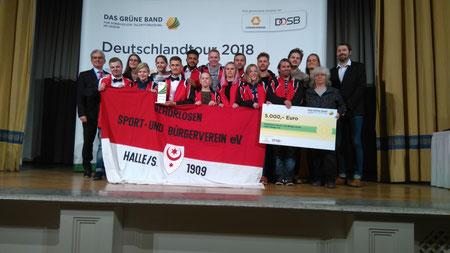Leistungssportliche Nachwuchsförderung - GSBV Halle/Saale