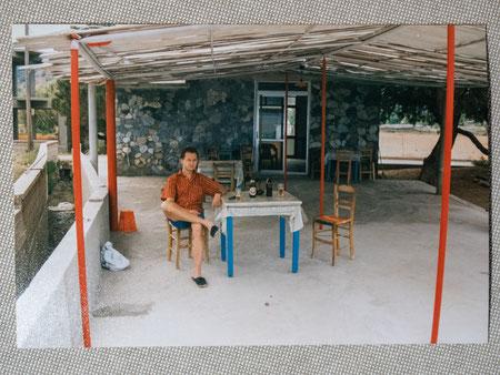 in Kreta 1990...(Taverne Evangelos, Nopigia in Westkreta)