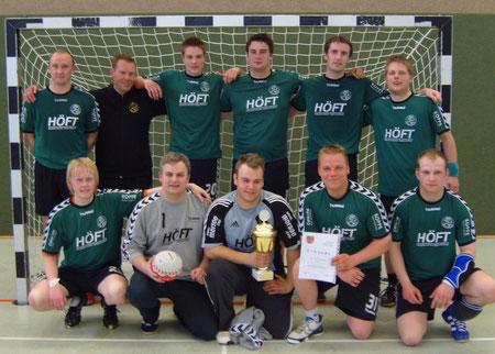DHB Kreispokalsieger 2010 HSG Hamdorf/Breiholz 1 und Teilnehmer an der 1. Runde auf Landesebene
