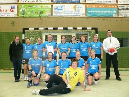 Kreismeister der Frauen TSV Alt Duvenstedt Serie 2009/2010 und Aufsteiger in die KOL Region Mitte