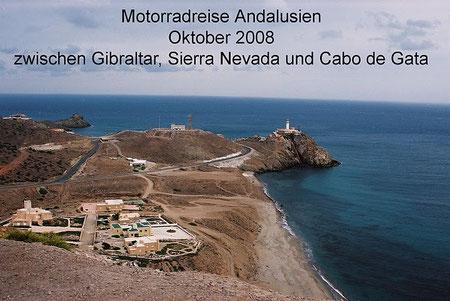 Blick auf Cabo de Gata