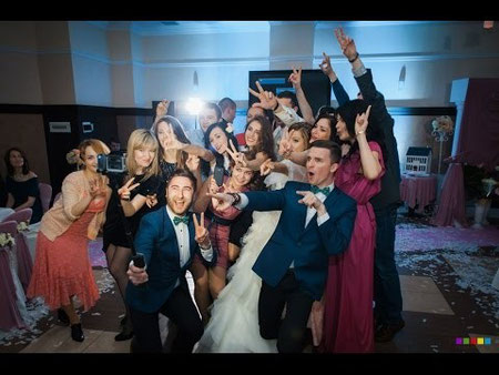 современный ведущий на свадьбу