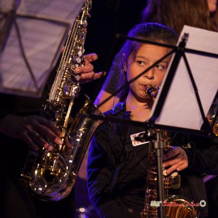 Concert des écoles de musique de la Communauté de Communes des Portes de l'Entre-Deux-Mers. Festival JAZZ360 2019, Saint-Caprais-de-Bordeaux. 05/06/2019. Photographie Christian Coulais