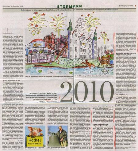 Hamburger Abendblatt 30.12.2010