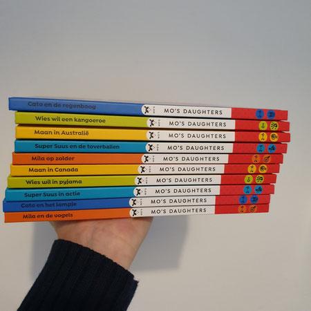 Kinderboeken, prentenboeken, voorlezen, mo's daughters