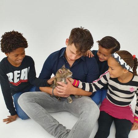 Poes, autisme, afscheid nemen huisdier.