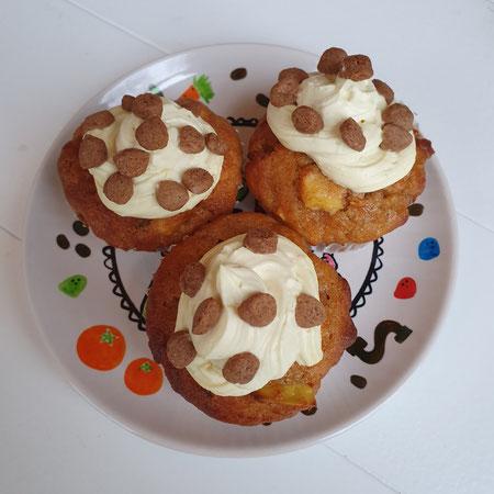 Cupcakes, sinterklaas, pepernoot, recept