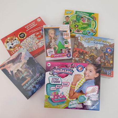 Speelgoed van het jaar verkiezing.