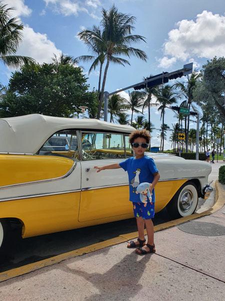 Miami, Ocean Drive, Florida